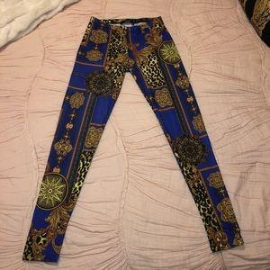 NASTY GAL printed leggings